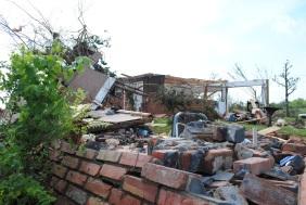 An F-5 tornado hit Carney, Okla. on May 19, 2013.
