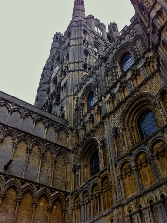 I spent two weeks in England in 2012. This is the Ely Cathedral, a church that endured several religious takeovers throughout the centuries.