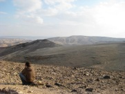 The southern area of Israel is called the Negev. Basically, nothing grows there, but herders and nomads still manage to make a living.